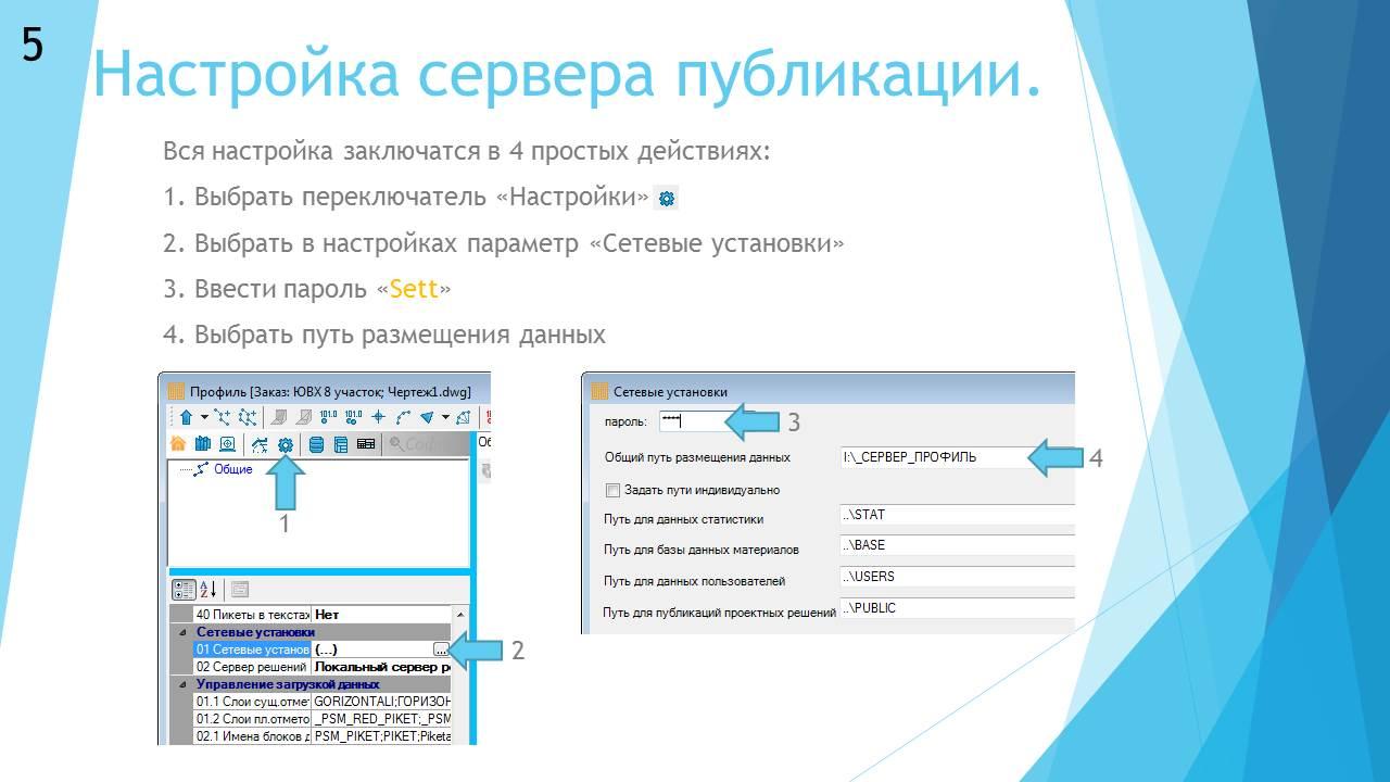 Публикация решений на сервере, слайд - 6
